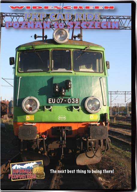PKP Cab Ride Szczecin To Poznan DVD Train Video Highball Productions PKP2