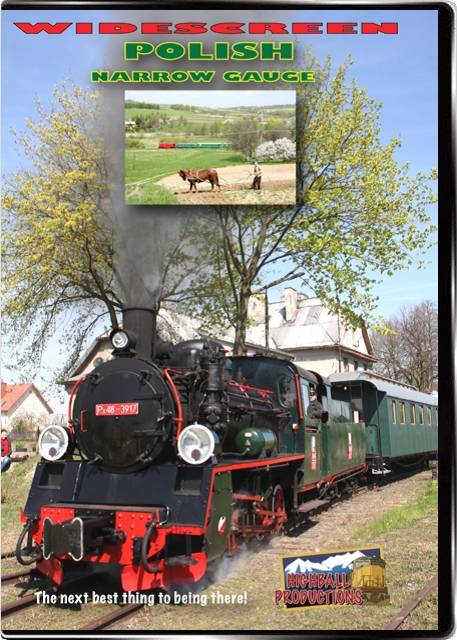 Polish Narrow Gauge DVD Highball Productions PNGW 181729001629