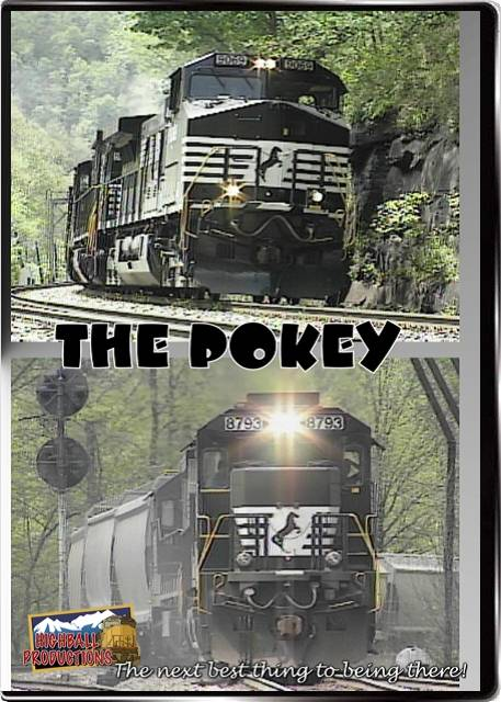 The Pokey DVD Train Video Highball Productions POKY