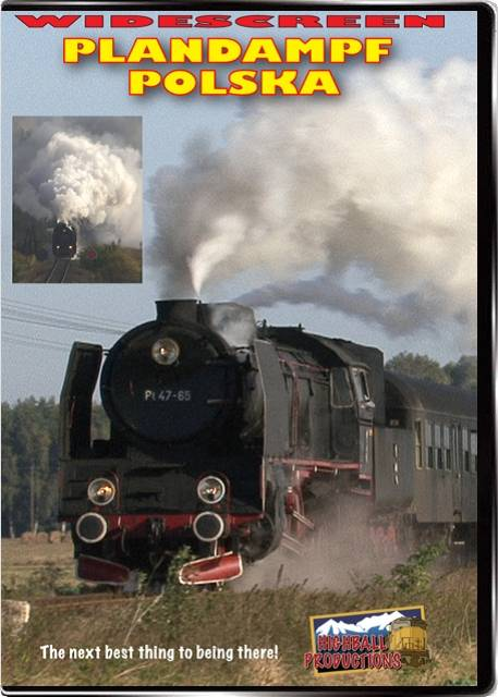 Plandampf Polska - Steam in Poland DVD Train Video Highball Productions POLW