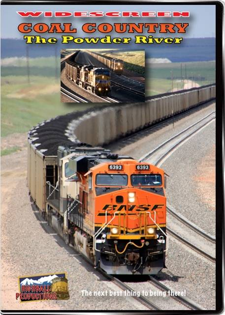 Coal Country - The Powder River DVD Train Video Highball Productions POWW 181729001858