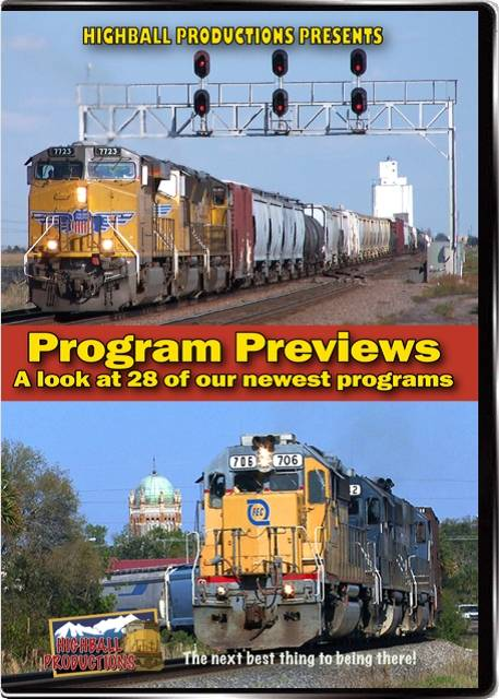 Highball Program Previews Train Video Highball Productions PRE2W