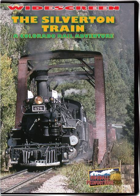 Silverton Train  A Colorado Rail Adventure - The Durango and Silverton Narrow Gauge Railroad DVD Train Video Highball Productions RA07W