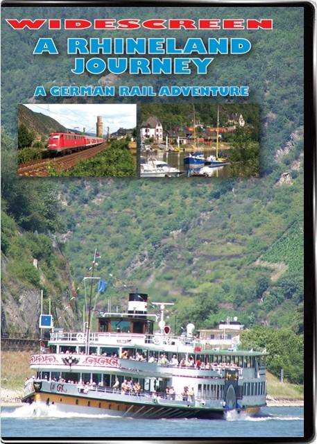 A Rhineland Journey - A German Rail Adventure DVD Highball Productions RA08W