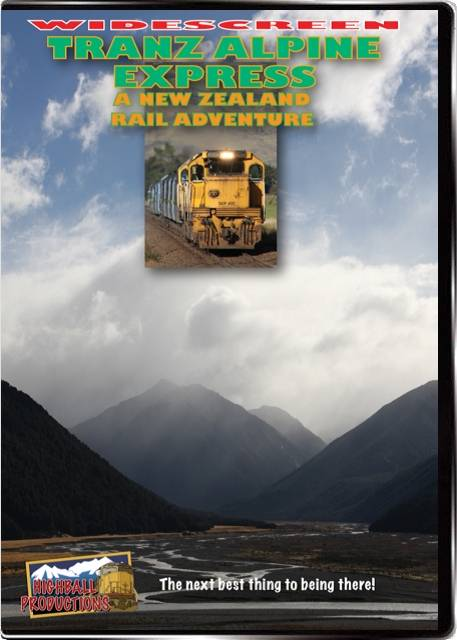 Tranz Alpine Express DVD Highball Productions RA10W 181729001292
