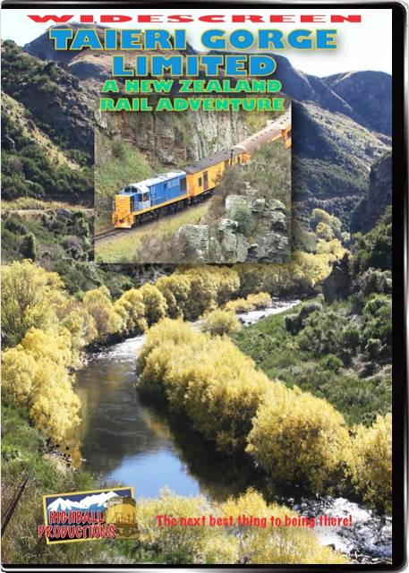 Taieri Gorge Limited - A New Zealand Rail Adventure DVD Train Video Highball Productions RA11W 181729001315