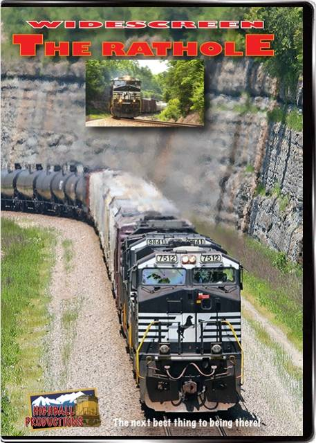 The Rathole - Norfolk Southern CNO&TP Line DVD Train Video Highball Productions RATHW 181729002336