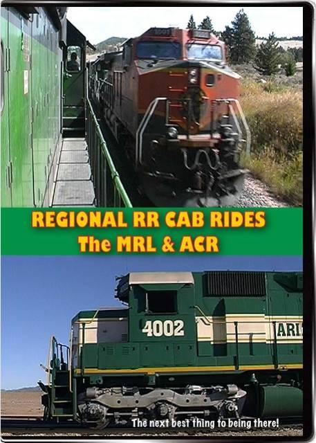 Regional Railways Cab Rides The MRL & ACR DVD Highball Productions RCR1 181729001544