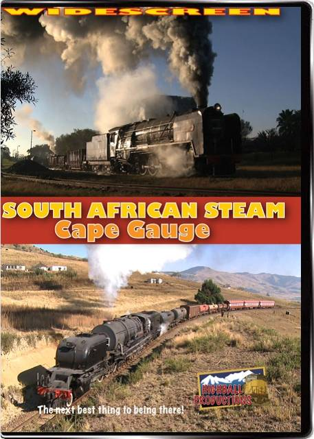 South African Steam - Cape Gauge DVD Train Video Highball Productions SACG 181729001339