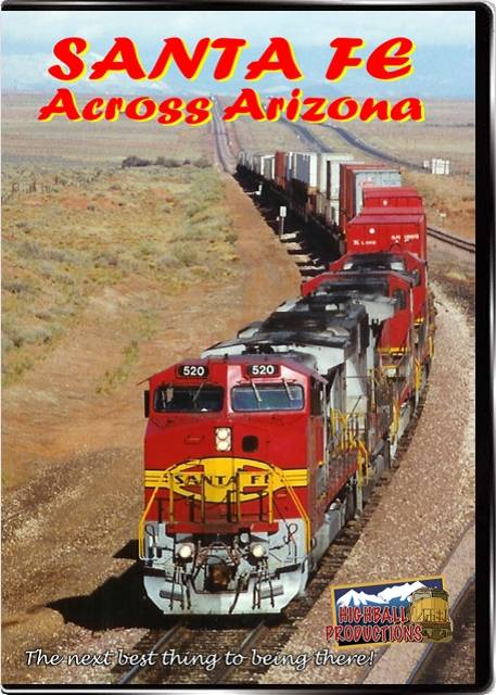 Santa Fe across Arizona DVD Train Video Highball Productions SFAA