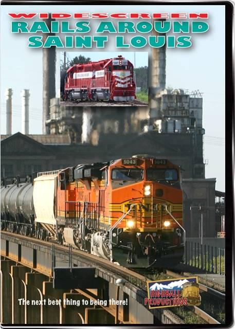 Rails Around St Louis - Alton & Southern  Amtrak  BNSF  CSX  Kansas City Southern  Norfolk Southern  TRRA  Union Pac DVD Highball Productions STLW 181729001261