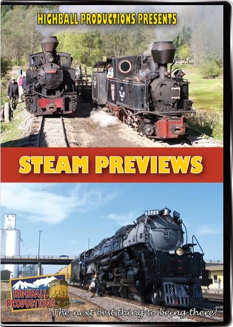 Steam Previews DVD Train Video Highball Productions STPV