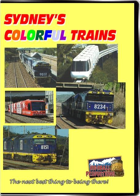 Sydneys Colorful Trains DVD Train Video Highball Productions SYDC