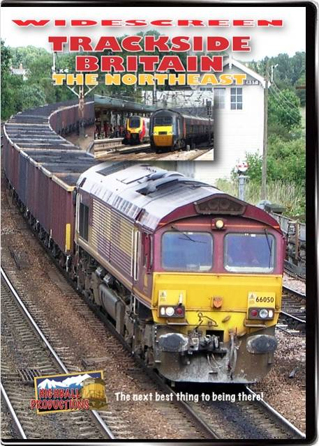 Trackside Britain  the Northeast DVD Train Video Highball Productions TBNEW 181729001643