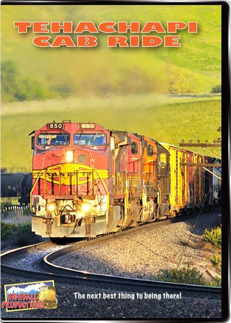 Tehachapi Cab Ride DVD Highball Productions TECR 181729000974