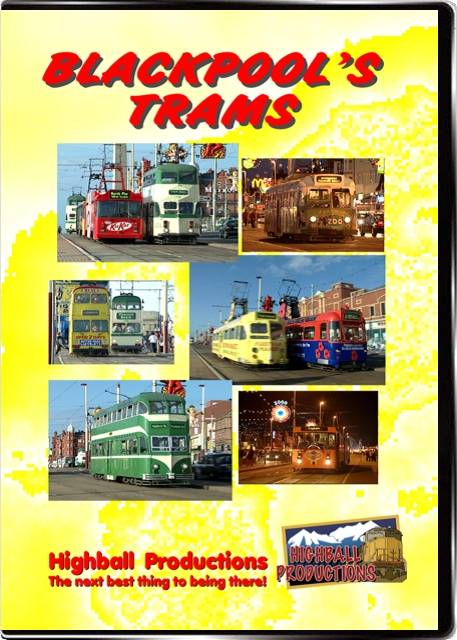 Blackpools Trams DVD Train Video Highball Productions TRAM