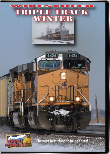 Triple Track Winter - The Union Pacific Overland Route DVD Highball Productions TRTRW 181729002299