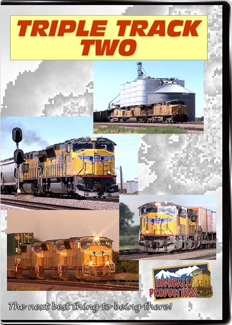 Triple Track Two - The Union Pacific Overland Route DVD Highball Productions TTT