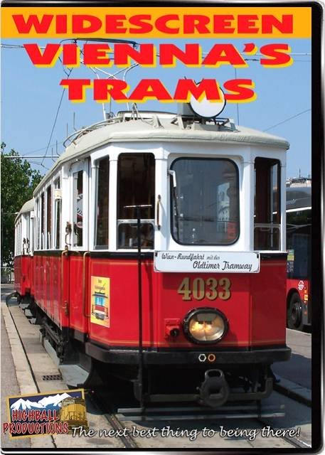 Viennas Trams DVD Highball Productions VITR-DVD