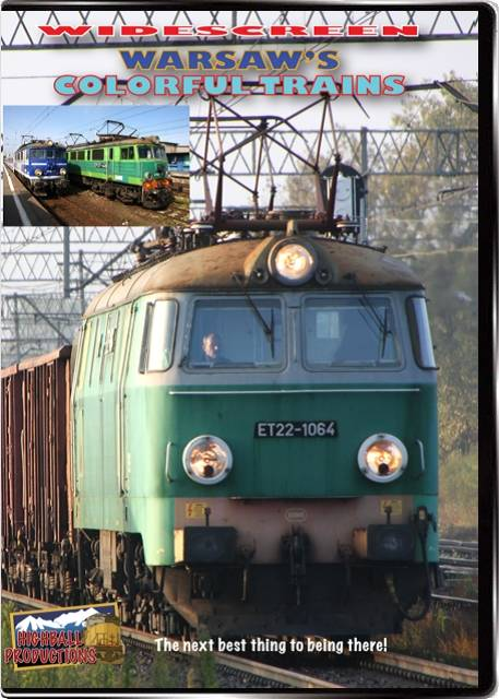 Warsaws Colorful Trains DVD Highball Productions WCTW 181729001568