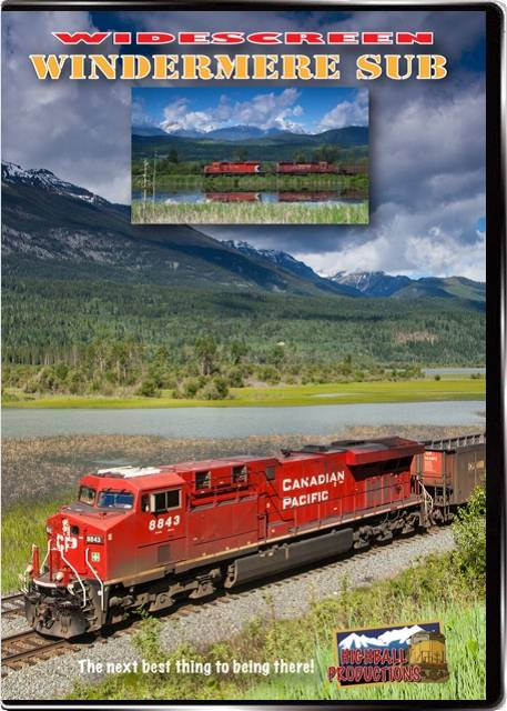 Windermere Sub - Canadian Pacific DVD Train Video Highball Productions WINDW 181729002350