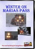 Winter on Marias Pass - BNSF on former Great Northern rails DVD