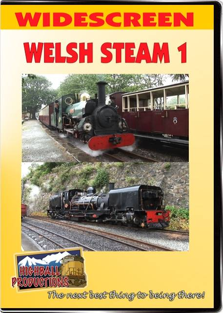 Welsh Steam Volume 1 DVD Train Video Highball Productions WS1-DVD 181729000196