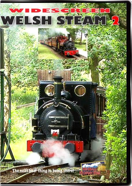 Welsh Steam Volume 2 DVD Train Video Highball Productions WS2W 181729002046