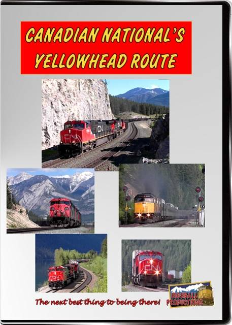 Canadian Nationals Yellowhead Route - The Albreda and Edison Subs DVD Train Video Highball Productions YELO-DVD