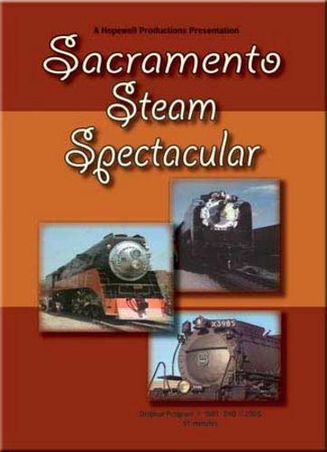 Sacramento Steam Spectacular 1981 DVD Hopewell Productions HV-3985