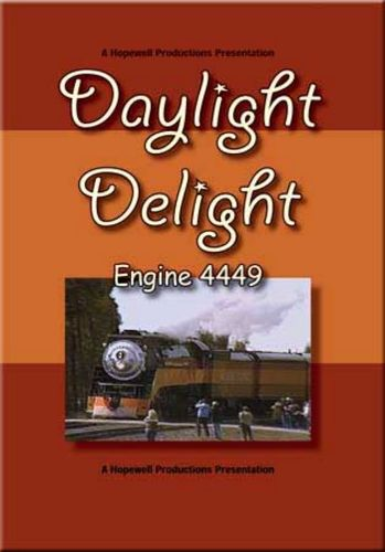 Daylight Delight 4449 DVD Train Video Hopewell Productions HV-4449