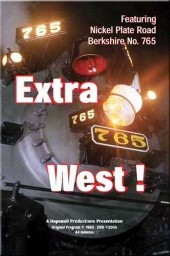 Extra 765 West DVD Train Video Hopewell Productions HV-765
