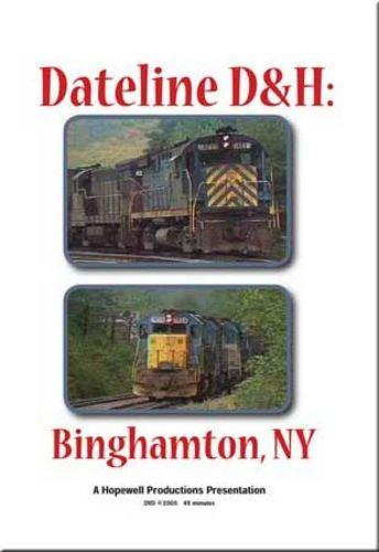 Dateline Delaware & Hudson DVD  Hopewell Productions HV-DH