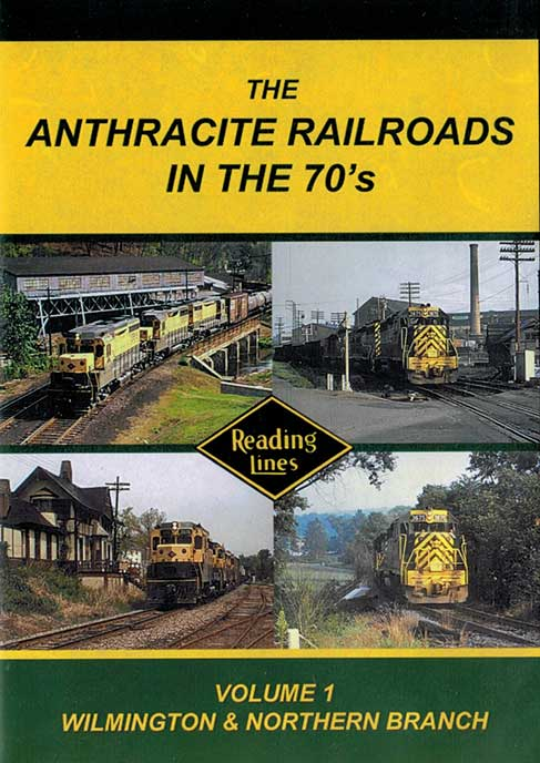 Anthracite Railroads in the 70s DVD John Pechulis Media AR70SV1