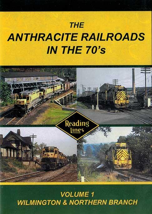 Anthracite Railroads in the 70s DVD John Pechulis Media AR70SV1