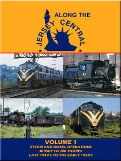 Along the Jersey Central Volume 1 DVD John Pechulis Media ATJCV1