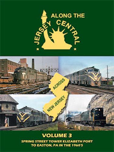 Along the Jersey Central Volume 3 DVD John Pechulis Media ATJCV3