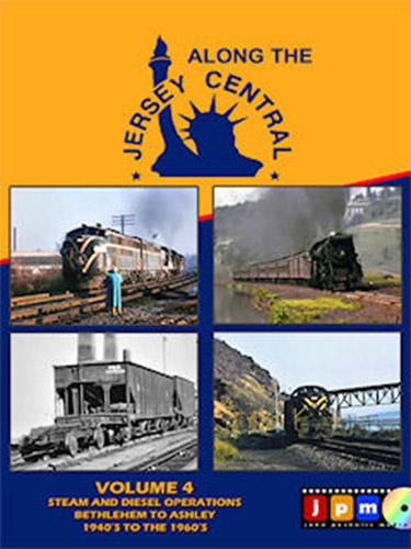 Along the Jersey Central Volume 4 DVD Train Video John Pechulis Media ATJCV4