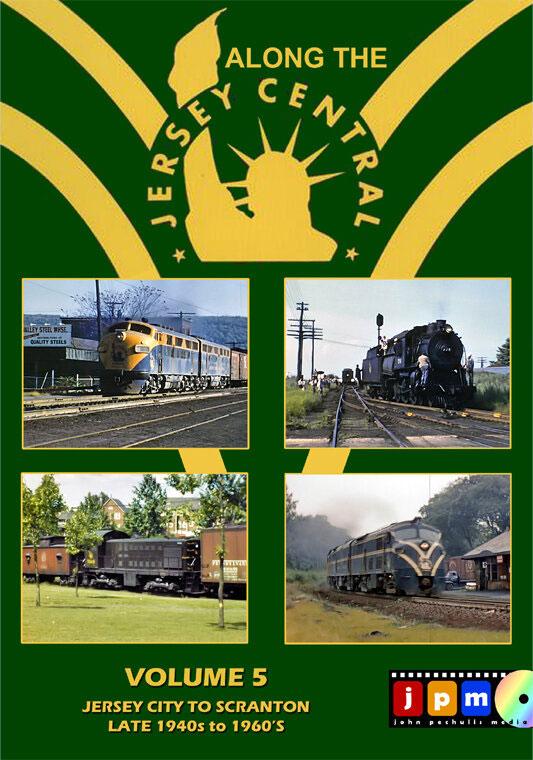 Along the Jersey Central Volume 5 DVD John Pechulis Media ATJCV5