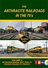 Anthracite Railroads in the 70s Volume 4 Bethlehem Branch DVD