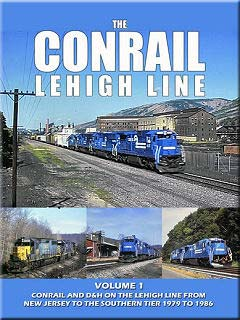 Conrail Lehigh Line Volume 1 DVD Train Video John Pechulis Media CLLV1