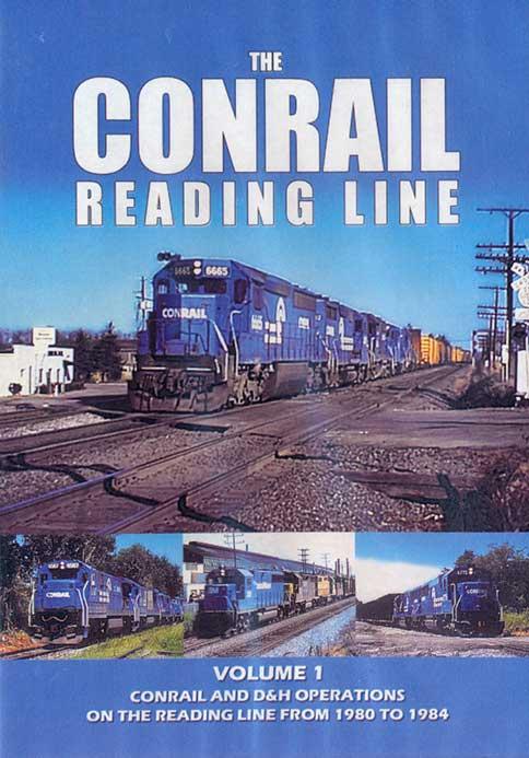Conrail Reading Line Volume 1 DVD Train Video John Pechulis Media CRLV1