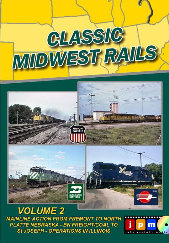 Classic Midwest Rails Volume 2 DVD John Pechulis Media CMWRV2