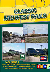Classic Midwest Rails Volume 2 DVD