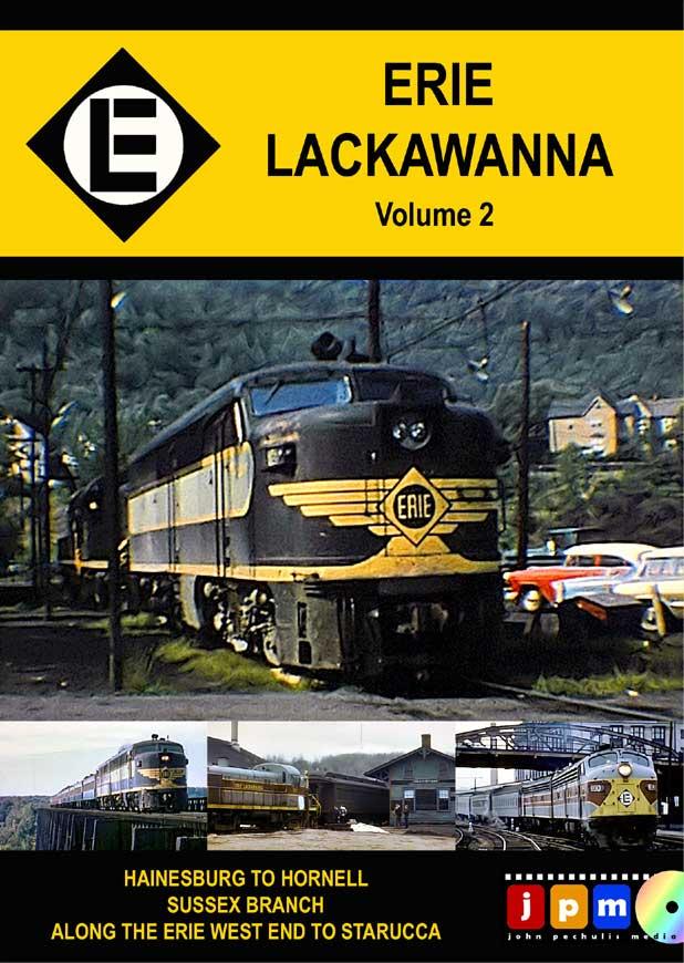 Erie Lackawanna Volume 2 DVD John Pechulis Media ELV2