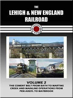 Lehigh & New England Railroad Volume 2 DVD Train Video John Pechulis Media LNEV2