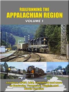 Railfanning the Appalachian Region Volume 1 DVD John Pechulis Media RFTARV1