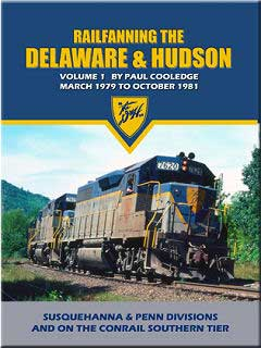 Railfanning the Delaware & Hudson Vol 1 1979-1981 DVD Train Video John Pechulis Media RFTDHV1