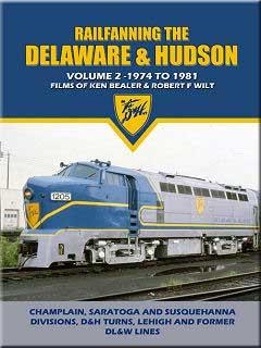 Railfanning the Delaware & Hudson Vol 2 1974-1981 DVD John Pechulis Media RFTDHV2