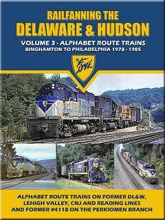 Railfanning the Delaware & Hudson Vol 3 1978-1985 DVD Train Video John Pechulis Media RFTDHV3